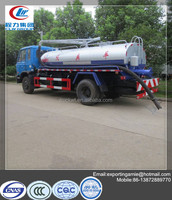 10000 liter dongfeng 4x2 fecal suction tank truck