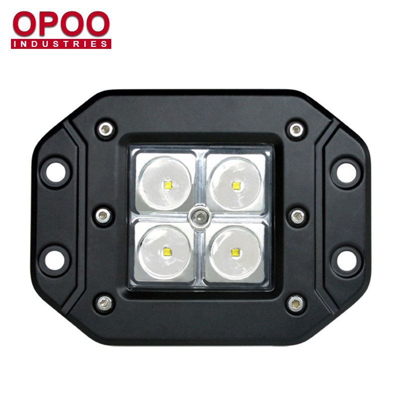 Waterproof I67 12v 24v 3inch Off Road LED Flush Mount Cube Lights