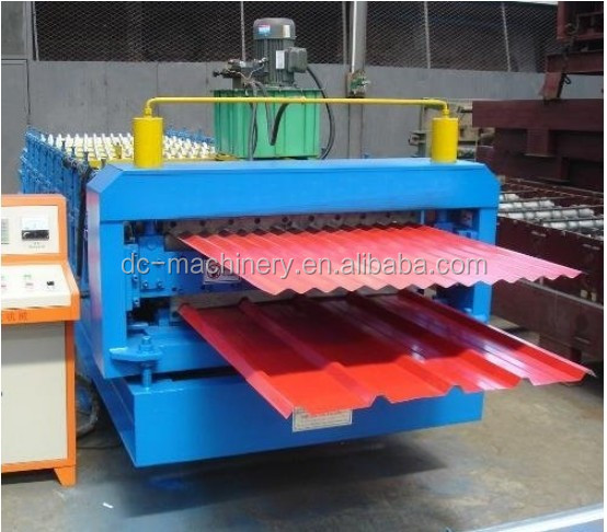 Roll formers Corrugated Steel Sheet Metal Roof Wall Panel Tiles Roll Forming Machine