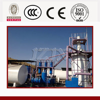 Jinzhen waste oil transformer oil distillation plant