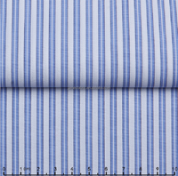 James new developed 100% Cotton Yarn Dyed Wrinkle Free dobby Stripe Shirting Fabric