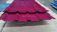 metal roofing to ghana /color steel sheet / roof tile