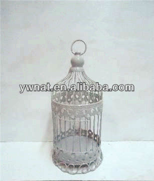 2013 New design classic iron/metal hanging bird cage candle holders Home or Garden Decoration