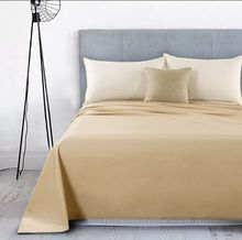 80% cotton 20% polyester khaki terry cloth waterproof towel fitted bed sheet coated with TPU/PE/PVC