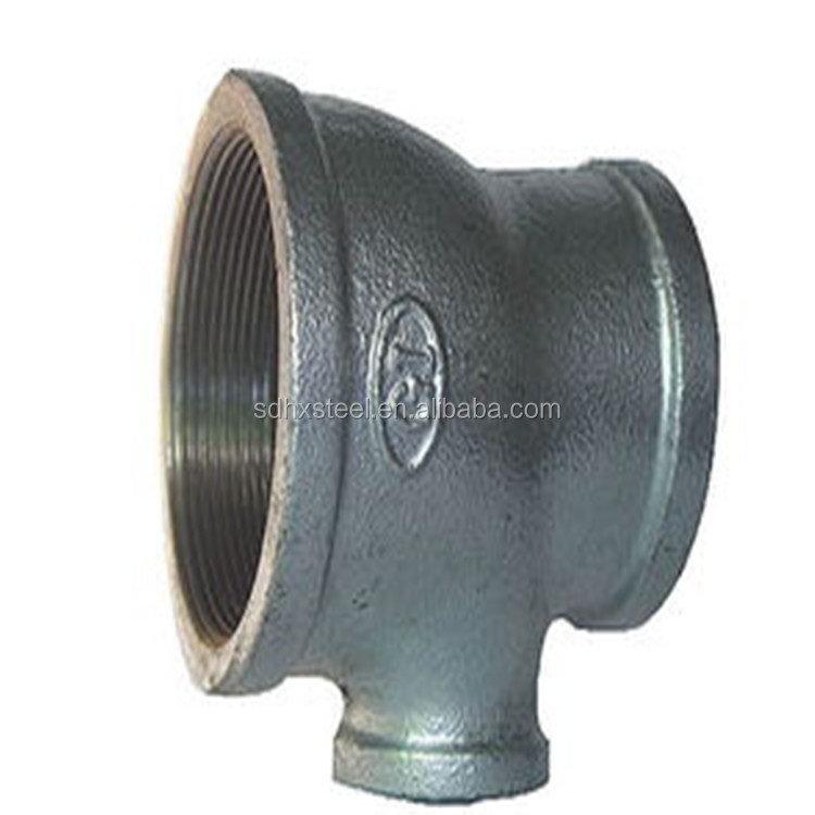 Black Pipe Fitting Cast Clamp Mech Supplier Hose Joint And Line Plumbing Reducer