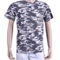 OEM men short sleeve o neck high quality breathable camouflage t shirt