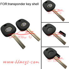 Lexus transponder chip key shell with TOY48 blade (Short)