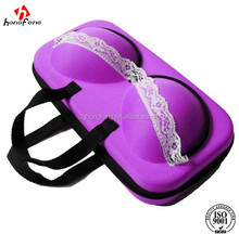 portable eva bra travelling bag ladies bra and panties storage case