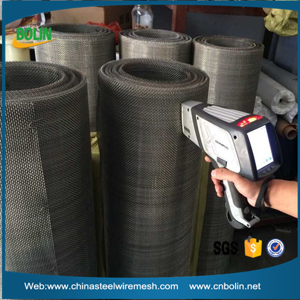 10 mesh pure nickel wire mesh screen for chlor-alkali chemical industry