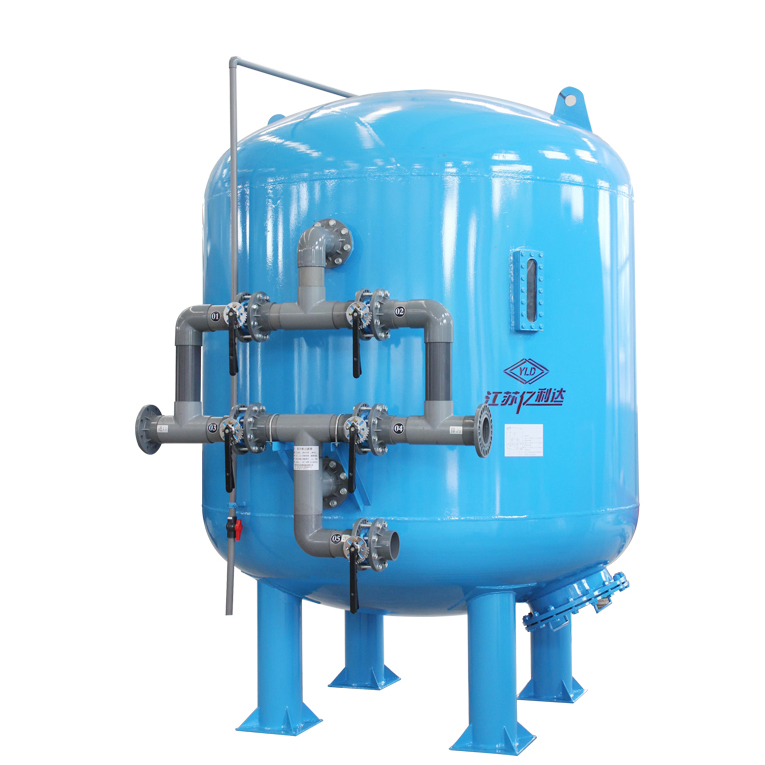 manganese iron sand filter for well water/industrial water treatment