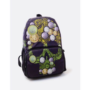New design trendy high school student backpack stylish skull printing school bags