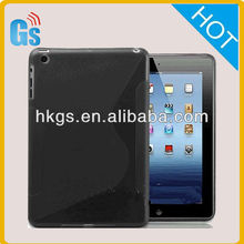 new product For ipad mini 2 II Tablet tpu s line TPU Soft Cover Case