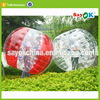 Stock inflatable belly bumper bubble football soccer ball adult game