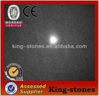 Factory price + Good quality polished black granite