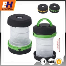 BH-6054 1W Extenable emergency light, Pop Up Portable Folding Collapsible Led Camping Lantern