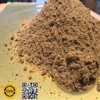 Steam dried fish meal for animal feeds, made from 100% sea fish