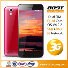 809T 3G android cheap celulares best 8mp camera 2 camera android phones