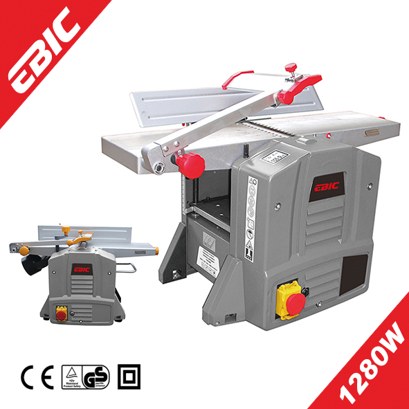 EBIC 1280W industrial wood thickness planer/ jointer planer woodworking machine