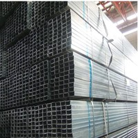 gi pipe price list From China Rectangular Galvanized carbon Steel Pipe Used Greenhouse Frames For Sale