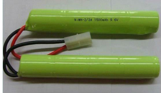 Hot selling NiMH-2/3A 1500MAH 9.6V battery for 3D product