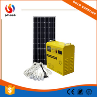 portable small home energy saving off grid 1.5kw solar system for small house