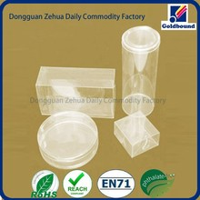 Classical and fashionable printing recyclable clear pvc box