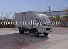 Dry Cargo Transport Box Truck Van