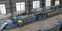 TDF flange machine, HVAC duct manufacturing line, Squre duct forming machine