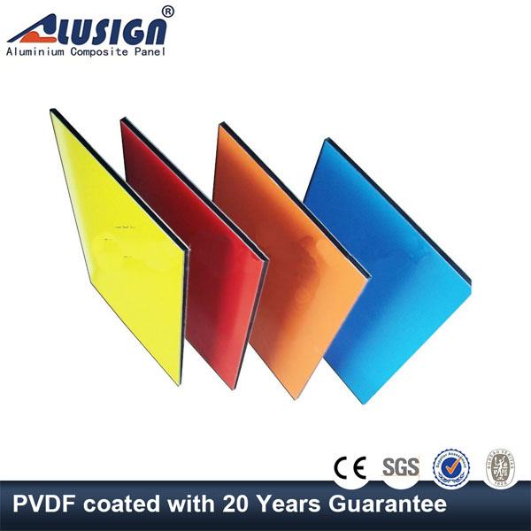 Alusign oem protective film for aluminum composite wall cladding panel