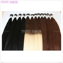Big discount Cheap Luxury quality Two tone color I tip extension