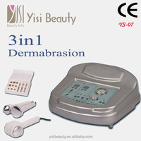 Portable 3 in 1 best microdermabrasion facail beauty machine with CE YS-Ms07