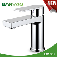 Polished Chrome Finished bathroom taps uk