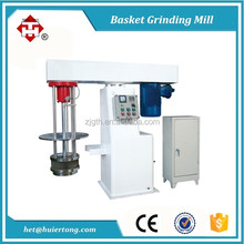 Batch Production Hydraulic Lifting Pigment Basket Mill Grinding Machine