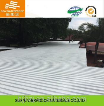 Waterproof spray flexible waterproofing roof coating