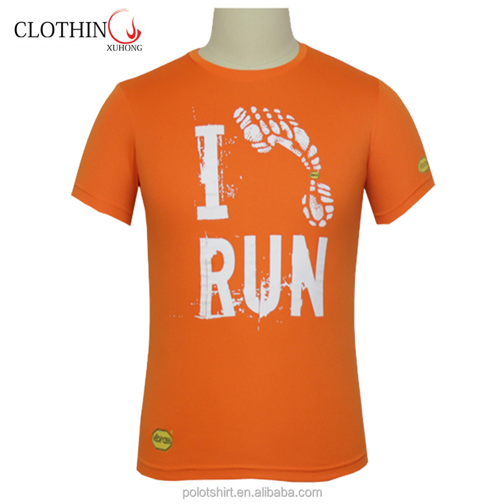 Running sublimation dry fit t shirt polyester gym crew neck digital sports boys t shirt for man