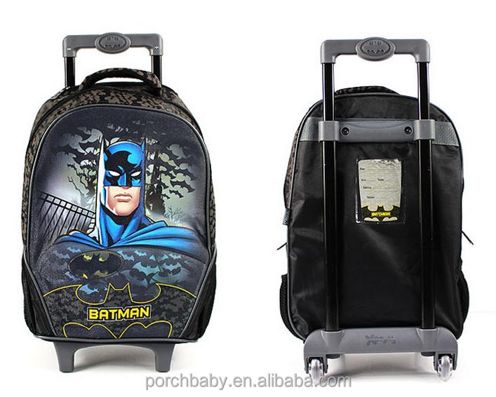 Wholesale Kids Cartoon Batman Children Rolling Luggage Case,Batman ...