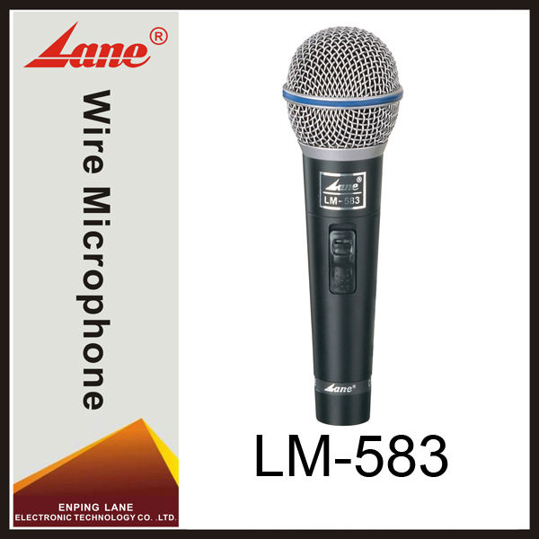 Lane LM-583 Dynamic handheld driver microphone