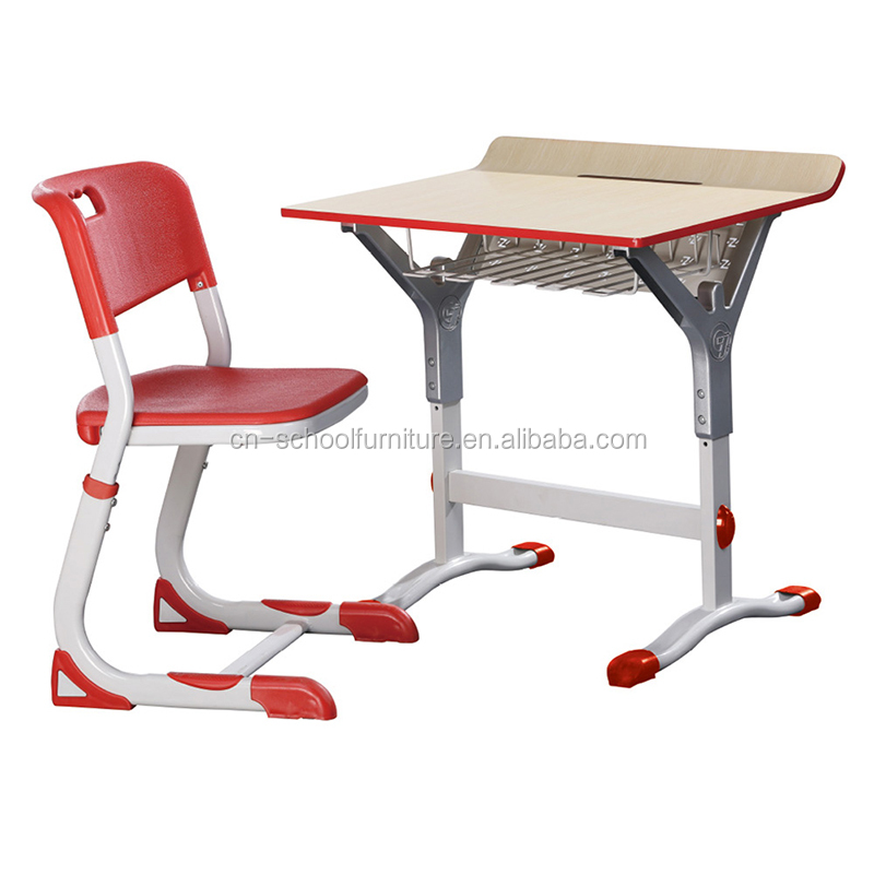 Strong modern university school desk and chairs HY-0360K