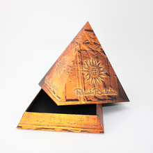 BSCI,FSC Cardboard triangle box,triangle shaped box