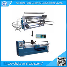 Fabric slitting and rewinding machine with high quality