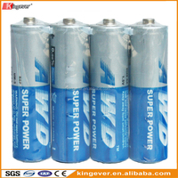 4 Packs R6 Um-3 AA Carbon Zinc Dry Cell Battery for toy