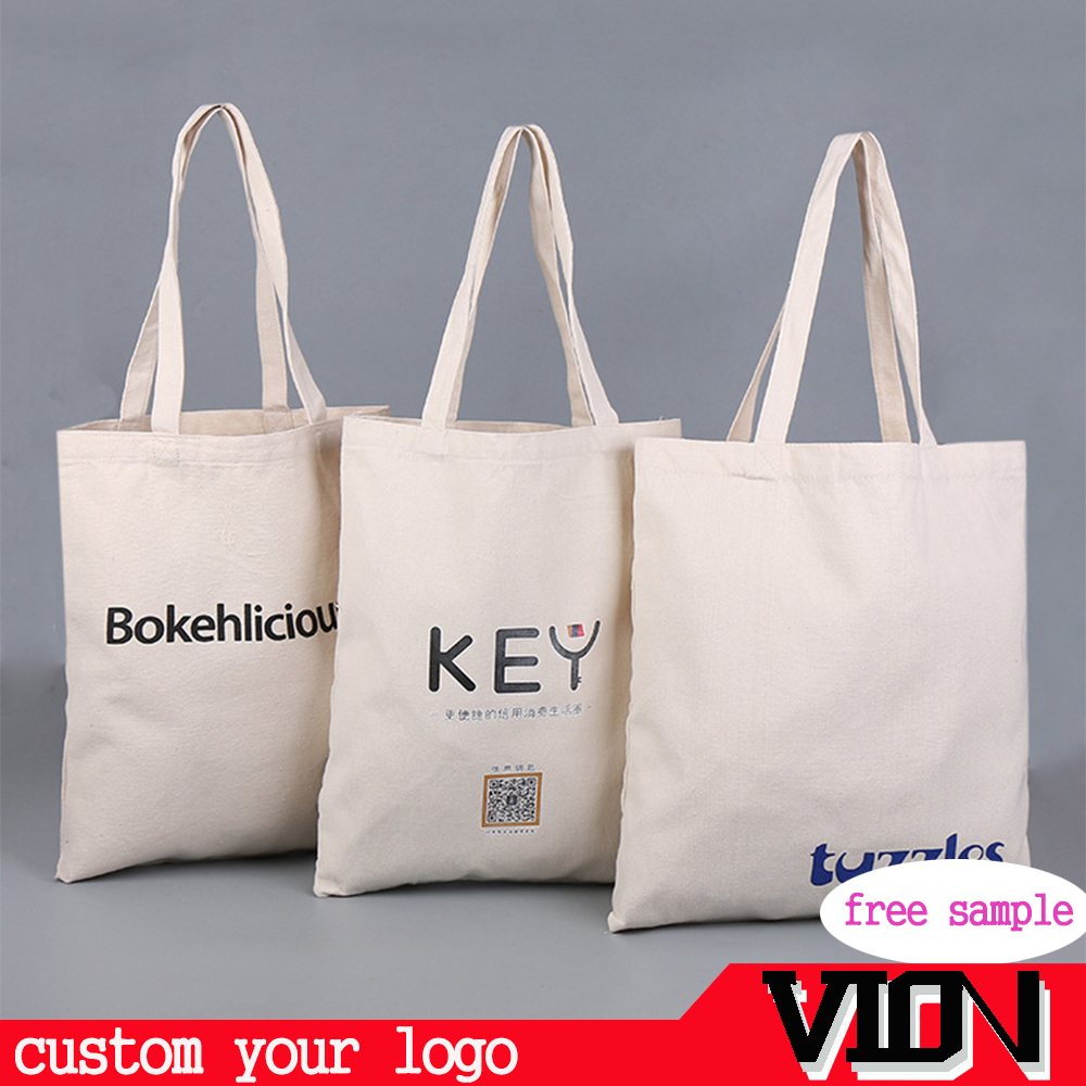 Promotional Cheap Custom Cotton Bag For Shopping