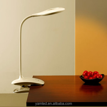 Dimmable with USB port! 6W portable high luminaire led reading desk & table lamp