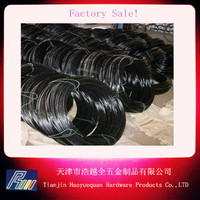 supply 9/12/14/16/18 gauge black annealed tie wire