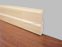 MDF wood moulding skirting board