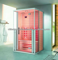 Aluminum alloy Frame Canada Material Hemlock Far Infrared Sauna Room For 5 Person