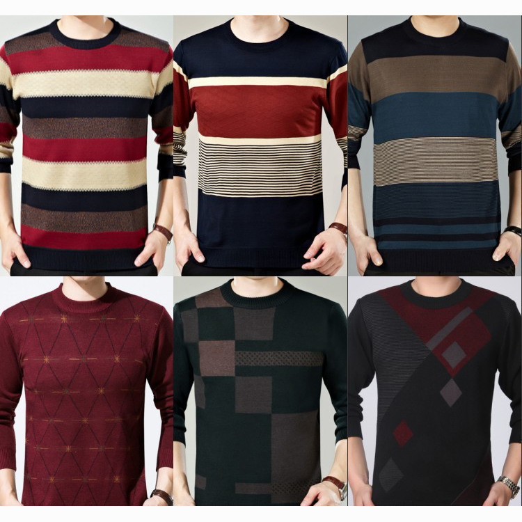 Cheapest wholesale stock lot for garments high quality sweater