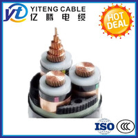 XLPE insulated power cable 8.7/15 KV 185 mm2