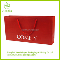OEM Custom Extra Large Luxury Paper Shopping Bag Brand Name Printed with Handle and Company Logo
