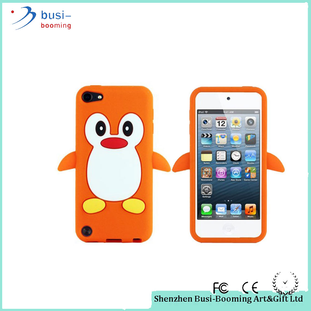 Mobile phone accessories Animal Shaped 3D Carton Penguin Shell Case For Iphone 3G